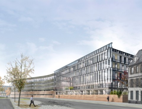 <strong>Department Council Annex in Upper Rhin, Strasbourg, France</strong><br />Year 2011
