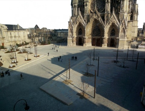 2008<br /> Plaza Catedral de Reims
