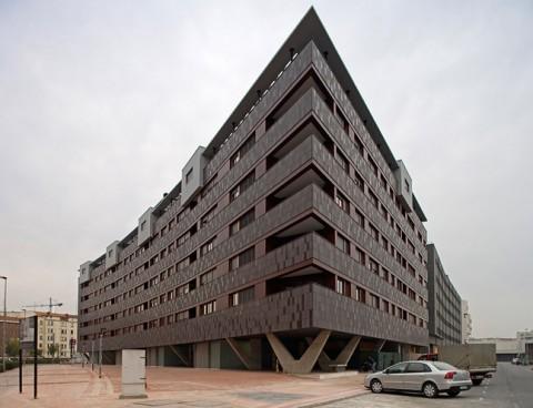 <strong>Viviendas en Urban Galindo, Baracaldo, Vizcaya, España</strong><br/>Año 2007