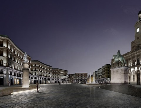 <strong>Restructuring of the surroundings of the Puerta del Sol, Madrid, Spain</strong><br />Year 2014
