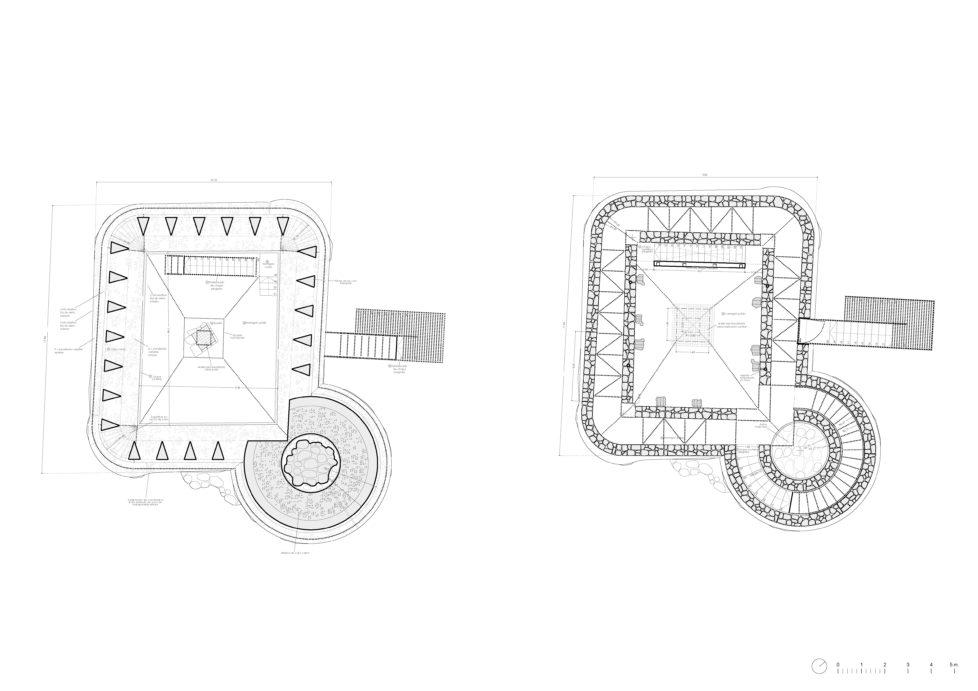 NA03-02-Planta cripta y Planta baja