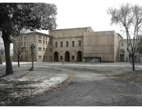 <strong>Refurbishment and extension of Palazzo Massari, Ferrara, Italy</strong><br />Year 2017