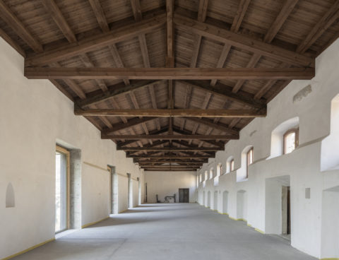 <strong>Refurbishment of Zigherane tobacco processing factory, Rovereto, Italy</strong><br />Year 2019